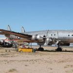 Le Connie Air Force One était stocké dans le désert de Tucson depuis 2003