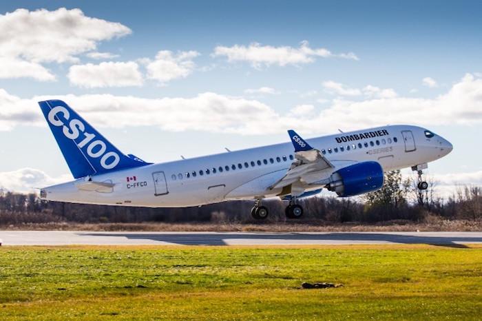 Pendant un mois le bréacteur CS100 assurera des vols d'évaluation d'itinéraires selon des routes et des procédures opérationnelles typiques des compagnies aériennes.
