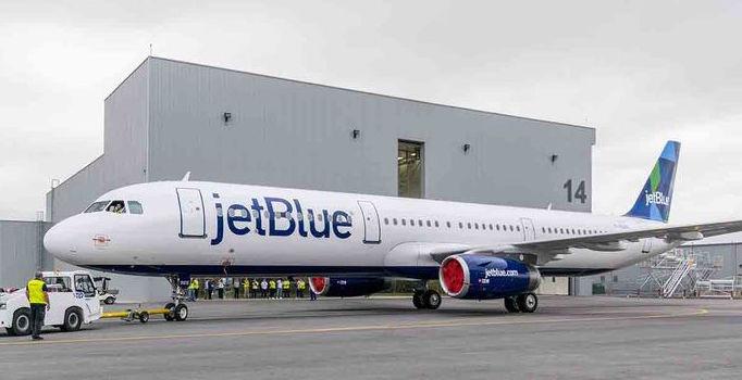 Le premier A321 assemblé aux Etats-Unis est destiné à Jetblue
