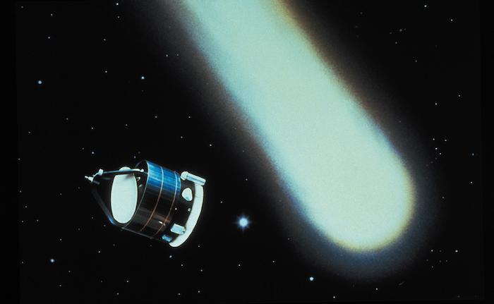 Il y a 30 ans, la sonde spatiale Giotto transmettait les toutes premières images en gros plan d'un noyau de la comète de Halley