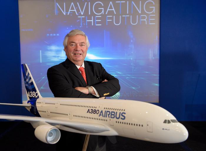 John Leahy, le meilleur vendeur d'A380