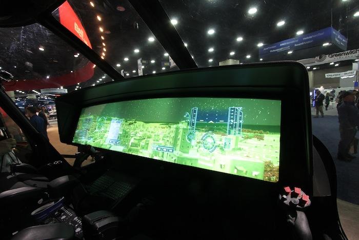 Les équipes de Bell se lâchent et proposent des planches de bord futuristes. En attendant, le prototype du V280 sera équipé d'écrans multifonctions que l'on peut aujourd'hui qualifier de « traditionnels ».