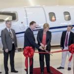 Le Learjet 75 est intégré à la flotte en multipropriété et en gestion d'Aurora qui comprend également les Challenger 300, 604 et 605, et le Global 5000 de Bombardier.