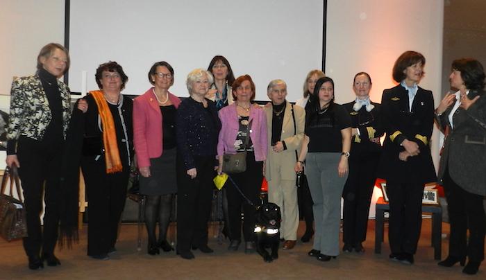 Honneur aux femmes de l'air, le 11 mars 2016, à l'Aéro-club de France