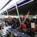 Aéroport de Lille souligne la courtoise des milliers de passagers belges envers ses équipes.