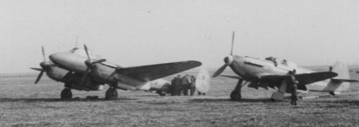 Bombardier Pe-2 et Yak