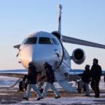 Le nord-ouest de la baie d'Hudson, en hiver : passage obligé pour les techniciens et les pilotes d'essais
