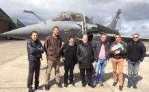 Les équipages de Buck Danny et Tanguy et Laverdure sur le BA113
