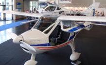 En 2013, au salon Aero Friedrichshafen, Flight Design mettait en vedette son biplace LSA, le CTLS