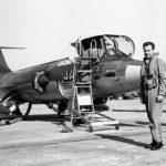 Georges Varin a effectué 800 heures de vol sur F-104 en Allemagne