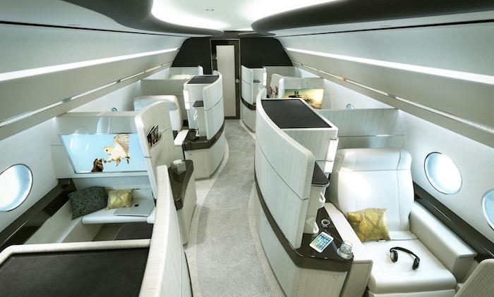 La partie VIP offre six mini-suites individuelles.