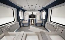 En version VIP, le H160 offre une cabine lumineuse modulable