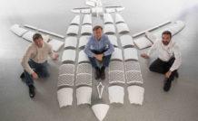 Une soixantaine de pièces produites à l'aide d'imprimantes 3D composent l'avion THOR d'Airbus