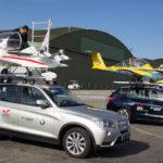 Par mesure de sécurité, la vitesse de décollage du toit de la voiture est de 120 km/h, soit 20 km/h plus vite que nécessaire