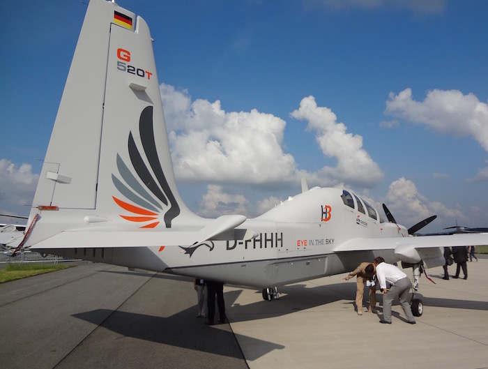L'atout du G520T est sa capacité d'emport