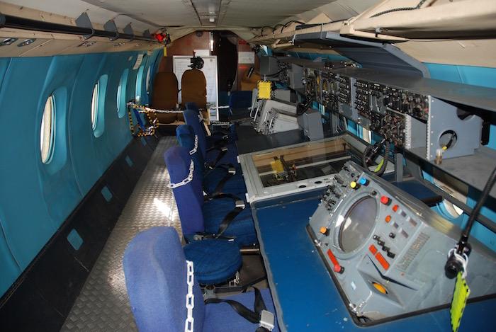La cabine du Nord 262 Fregate de la Marine Nationale