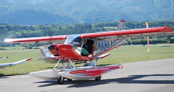 G1 Aviation confie la peinture de ses ULM à Nico Aéro Peinture, un atelier également implanté sur la technopole de Gap-Tallard.