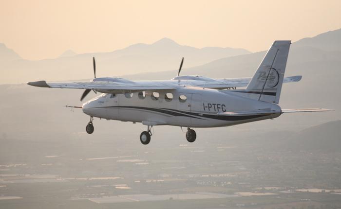 le bimoteur p2012 traveller de tecnam a vol u00e9