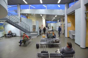 Aurillac Aeroport aerogare interieur