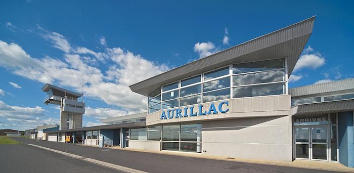Aurillac Aeroport entree