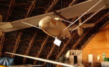 Planeur Avia XV A, de 1932, version améliorée du XI A par des mats et un petit fuselage de toile.