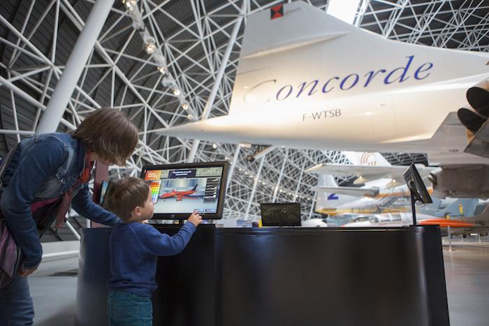 Ouvert en 2015, Aéroscopia est un musée interactif