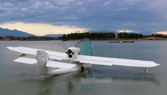 Le lac de Villeneuve de la Raho