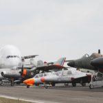 Les visites du hangar étant interdites, toutes les occasions sont bonnes pour sortir et exposer tout ou partie de la collection du CAEA.