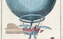 Jean-Louis Blanchard fut, le 7 janvier 1785, le premier aéronaute à traverser la Manche d'ouest en est, avec comme passager le docteur Jeffries. Le ballon à gaz était initialement muni de rames dans un souci de dirigeabilité, qu'il fallut jeter par dessus bord pour éviter de tomber à l'eau !