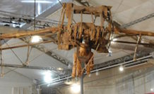 La machine volante de Léonard de Vinci