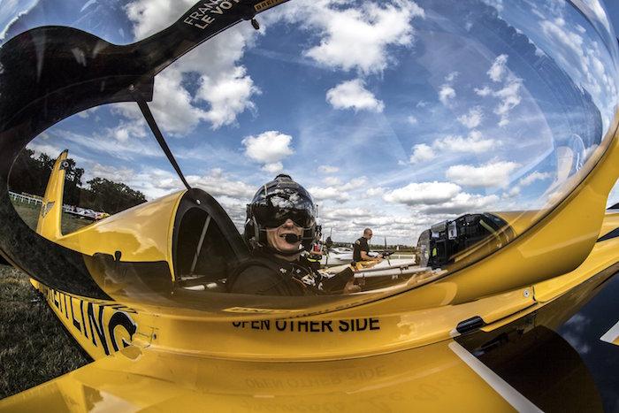 François Le Vot (Breitling) poursuit la mise au point de son avion