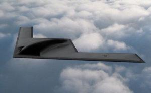 Le bombardier à long rayon d'action B-21 Raider doit effectuer son premier vol vers 2020 pour une entrée en service au sein de l'US Air Force dix ans plus tard. © Northrop-Grumman