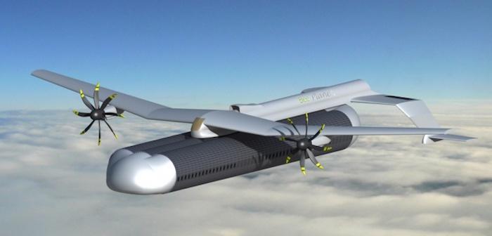 Le Bee-Plane, concept d'avion futuriste. ©Bee-Plane