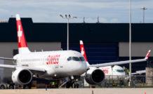Bombardier Aéronautique a enregistré plus de 300 commandes fermes et jusqu'à 800 commandes incluant les options et les engagements pour le programme CSeries. © Bombardier Aéronautique