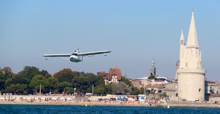 Hydro La Rochelle survol