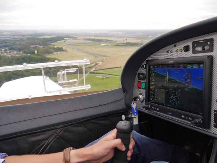 En croisant à 120 kts, le VL3 evolution est un appareil idéal pour le voyage © Aerobuzz/Fabrice Morlon