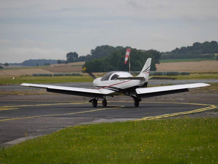 Avec son profil aérodynamique, le VL3 a tout d'un petit chasseur © Aerobuzz/Fabrice Morlon