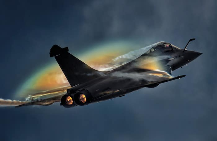 Rafale Solo Display.