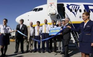 Ryanair s'implante à Toulouse-Blagnac avec l'ambition de transporter 750.000 passagers dès la première année. © ATM