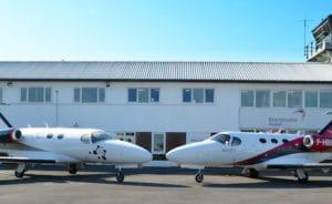 Blink a été fondée en 2006 à Londres, et Wijet en 2009 à Paris. Les deux compagnies d'avion-taxi ont misé sur le même biréacteur ultra-léger de Cessna (Citation Mustang) pour construire leur modèle économique. © Wijet