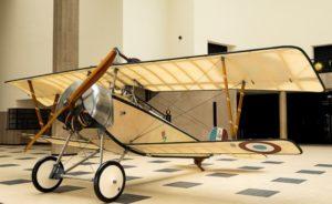 Nieuport XI Bébé (vers 1916), une pièce emblématique de l'exposition que consacre le musée de l'Air et de l'Espace à la bataille aérienne de Verdun. © Musée de l'AIr et de l'Espace.