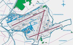 Chaque année depuis 2006, Eurocontrol effectue un audit sur le choix des pistes en service par Belgocontrol à l'aéroport de Bruxelles-National. Eurocontrol vérifie notamment si le Preferential Runway System (PRS) est appliqué correctement.© Brussels Airport