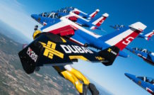 A 145 kts dans le ciel de Provence… © Airborne Films / Jetman Dubai