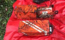 Les deux enregistreurs de vol (boîtes noires) de l'Avro RJ85 CP-2933 de la compagnie Lamia ont été récupérés moins de 24 heures après l'accident qui a fait 71 morts. © DR