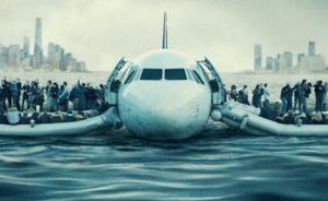 L'A320 d'US Airways et ses 155 passagers et membres d'équipage, dans l'Hudson River, à New York, le 15 janvier 2009. © Warner Bros. Entertainment