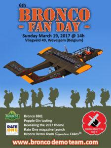 Bronco Fan Day @ Aéroport de Courtrai - Belgique | Wevelgem | Vlaanderen | Belgique