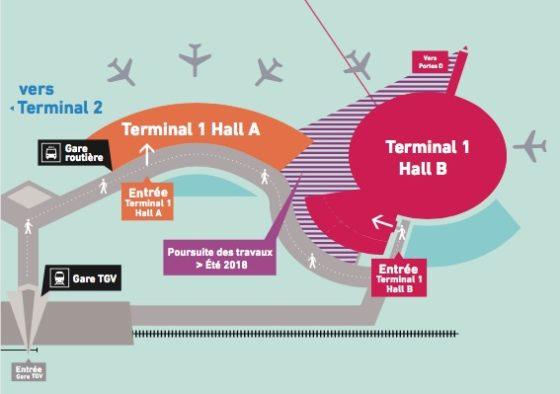 Aéroports de Lyon met progressivement en service le nouveau Terminal 1