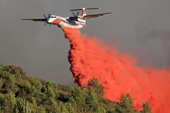 Violent feu de forêt dans le Vaucluse, le sud-est en alerte