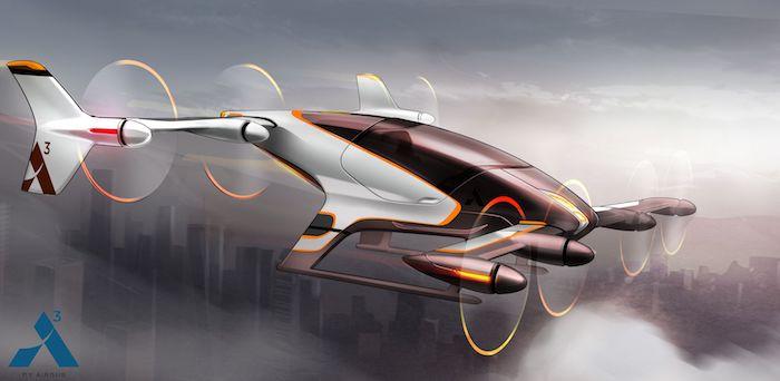 eVTOL, le taxi volant autonome Vahana-Watermarked-Image-1