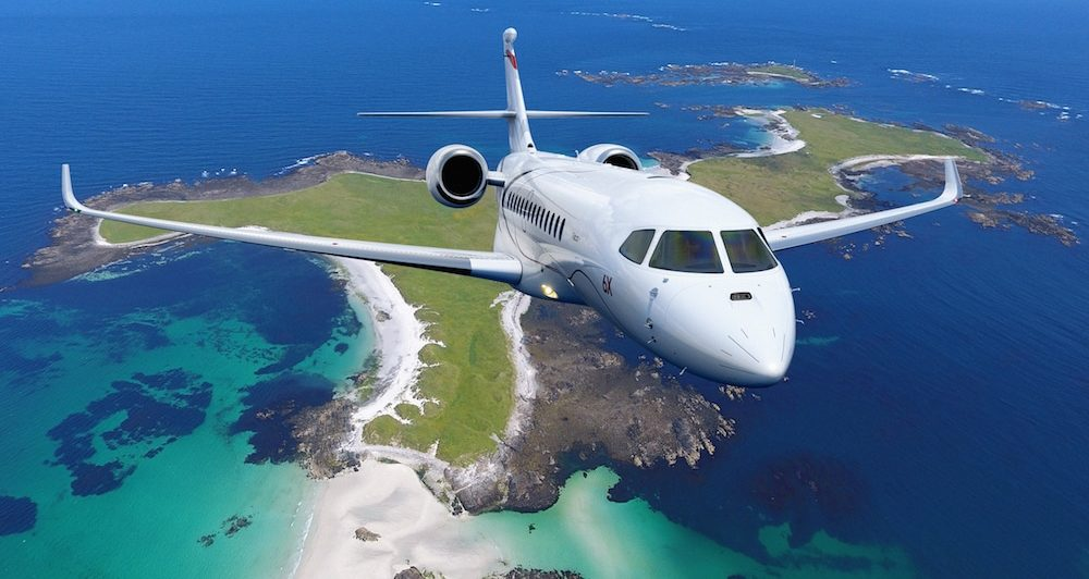 Un super 5X baptisé Falcon 6X Aerobuzz